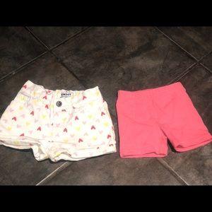 2T cotton shorts